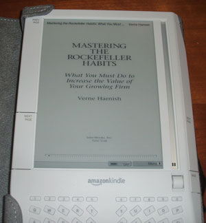 Kindle: Mastering the Rockefeller Habits