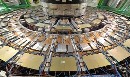 QTVR: compact muon solenoid at CERN