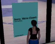"SecondLife: ""sorry, we're closed"""