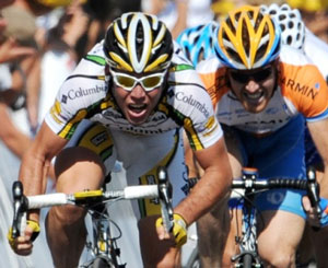 TDF 09 stage 2: Cavendish takes the sprint