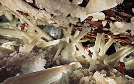 the Giant Crystal Cave