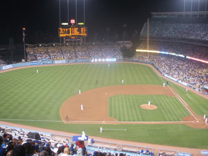 Dodger Stadium - the Center of the Universe