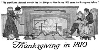 Thanksgiving in 1810