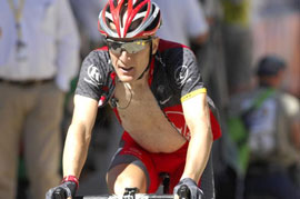 Levi Leipheimer is favored to win the TOC - and Mount Baldy