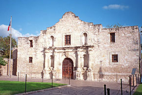 the Alamo - San Antonio bound...