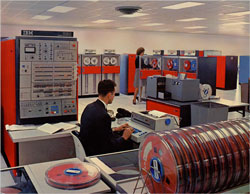 IBM mainframe from the 60's