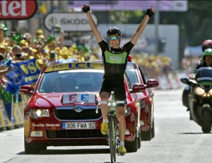 Edvard Boassen Hagen wins stage 17, after finishing second the day before!