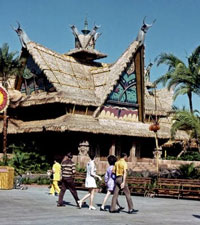 Disney World Tiki Room