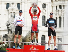 Juan Jose Cobo wins the 2011 Vuelta a Espana