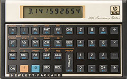 HP's 12c scientific calculator