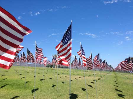 most excellent 9-11 tribute at Pepperdine University in Malibu