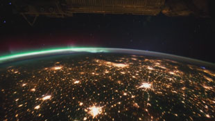 Planet Earth, as see from ISS