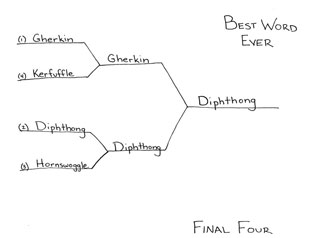 best word ever - final four