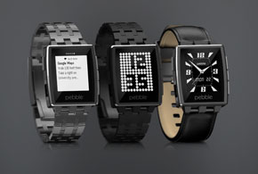 new Pebble watches