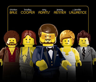 Lego American Hustle movie poster
