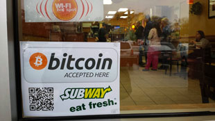 Bitcoin accepted by Subway