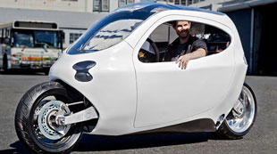 Lit Motors' electric scooter