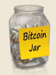 the Bitcoin jar