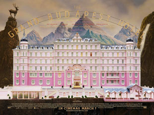 Grand Budapest Hotel - a feast for the eyes and mind