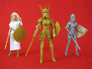 3D-printed Barbie armor