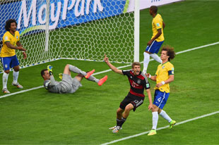 Germany blows out Brazil