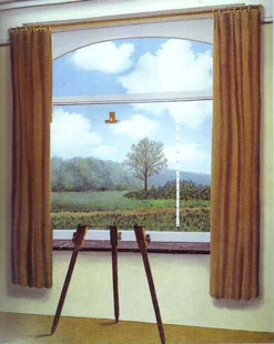 Magritte: the Silent Captive