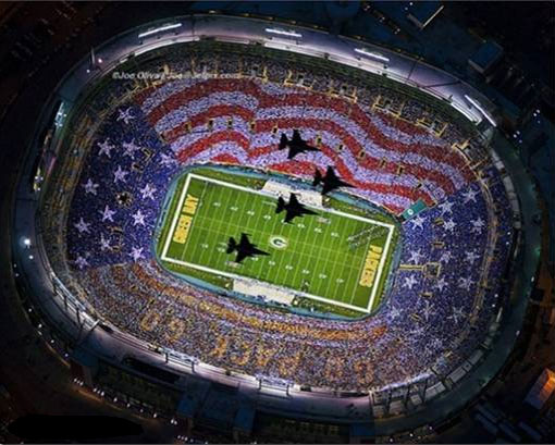 Veteran's Day, Lambeau Field