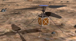 NASA's Martian helicopter