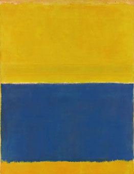 Mark Rothko: Untitled (yellow and blue)