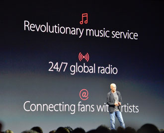 Apple Music: three old things packaged as one new thing
