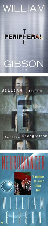 books by William Gibson ... one is not like the others