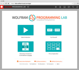 Wolfram programming lab - the best way to learn the Wolfram Language
