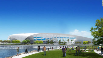 new LA football stadium