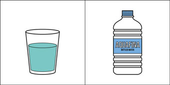 two kinds of people: water