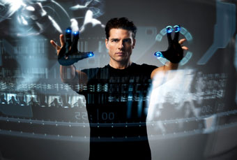 Minority Report - user interface of the future