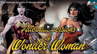 Alternate verions of Wonder Woman
