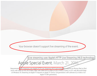 Apple's HLS streaming ... who ordered that?