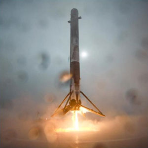 SpaceX: Falcon 9 landing