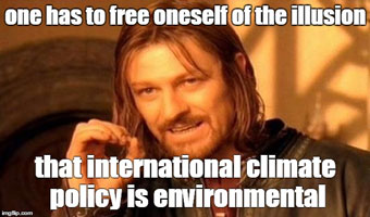 climate policy illusion