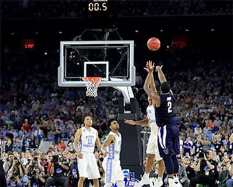 Villanova wins at the buzzer