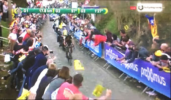 Philippe Gilbert wins Flanders in a solo attack with 55km to go!