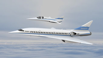 the supersonic age ... still in the future