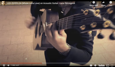 "killer acoustic version of ""Whole Lotta Love"""